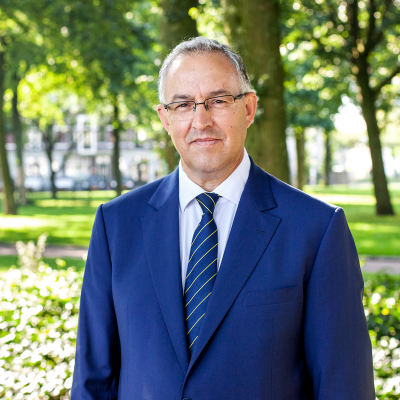 Mayor Rotterdam portrait Ahmed Aboutaleb